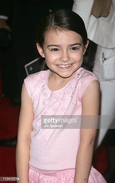 Ariel Gade during 'Dark Water' New York City Premiere Outside Arrivals at Clearview Chelsea West Cinema in New York City New York United States