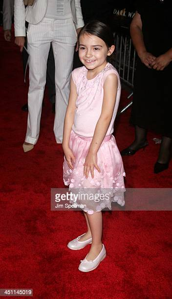 Ariel Gade during Dark Water New York City Premiere Outside Arrivals at Clearview Chelsea West Cinema in New York City New York United States