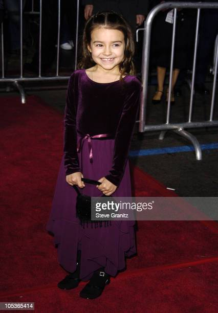 Ariel Gade during 'Mary Poppins' 40th Anniversary and Launch of Special Edition DVD Arrivals at El Capitan Theatre in Hollywood California United...
