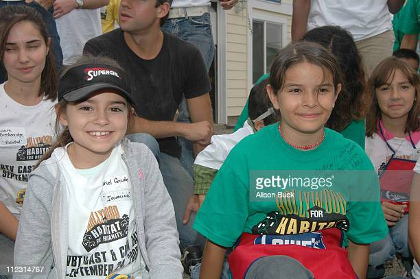 Ariel Gade during WBTV Stars Help Hollywood for Habitat for Humanity Commemorate Its Fifth Anniversary in Los Angeles California United States