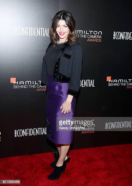 Ariel Gail attends the Hamilton Behind The Camera Awards presented by Los Angeles Confidential Magazine at Exchange LA on November 6 2016 in Los...