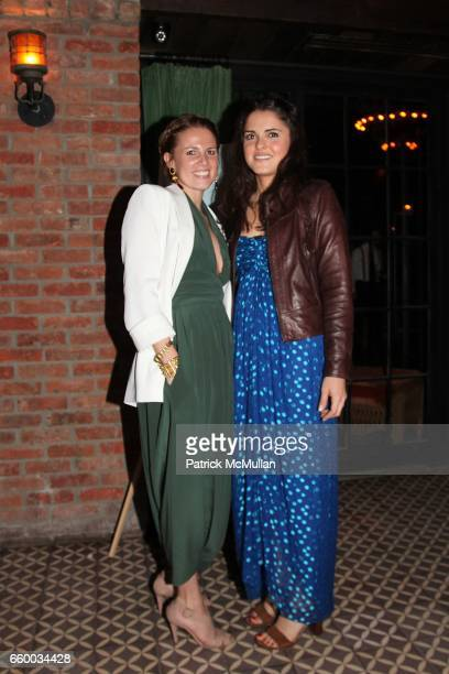 Ariel Greenspan and Ava Rollins attend House of Lavande Hosts the Nest Foundation Gala at Bowery Hotel on May 1 2009 in New York City