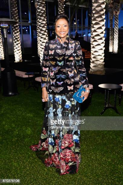 Ariel Investments President Mellody Hobson attends the 2017 LACMA Art + Film Gala Honoring Mark Bradford and George Lucas presented by Gucci at LACMA...