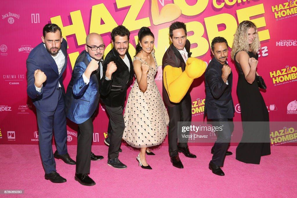 """Hazlo Como Hombre"" Mexico City Premiere - Red Carpet"