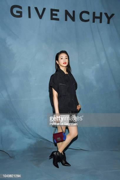 Ariel Lin attends the Givenchy show as part of the Paris Fashion Week Womenswear Spring/Summer 2019 on September 30 2018 in Paris France