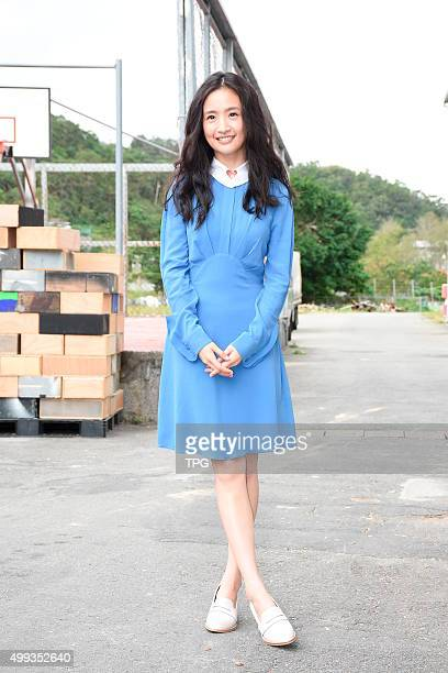 Ariel Lin promotes for her new movie on 30th November 2015 in Taipei Taiwan China