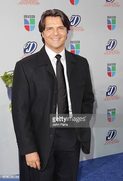 Ariel Lopez Padilla arrives at Univisions 2009 Premios Juventud Awards at Bank United Center on July 16 2009 in Coral Gables Florida