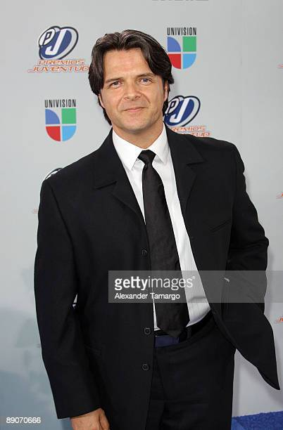 Ariel Lopez Padilla arrives at Univision's Premios Juventud Awards 2009 at Bank United Center on July 16 2009 in Coral Gables Florida