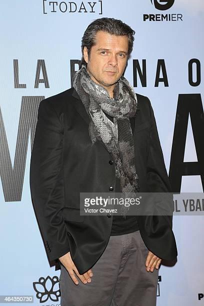 Ariel Lopez Padilla attends 'A La Mala' Mexico City premiere at Cinepolis Antara Polanco on February 24 2015 in Mexico City Mexico
