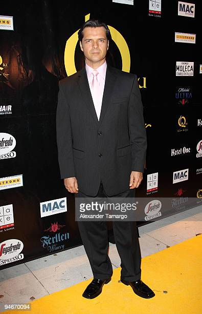 Ariel Lopez Padilla attends the Yellow Nights event to benefit the Lance Armstrong Foundation on December 16 2009 in Miami Florida