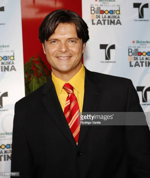 Ariel Lopez Padilla during 2006 Billboard Latin Music Conference and Awards Arrivals at Seminole Hard Rock Hotel and Casino in Hollywood Florida...