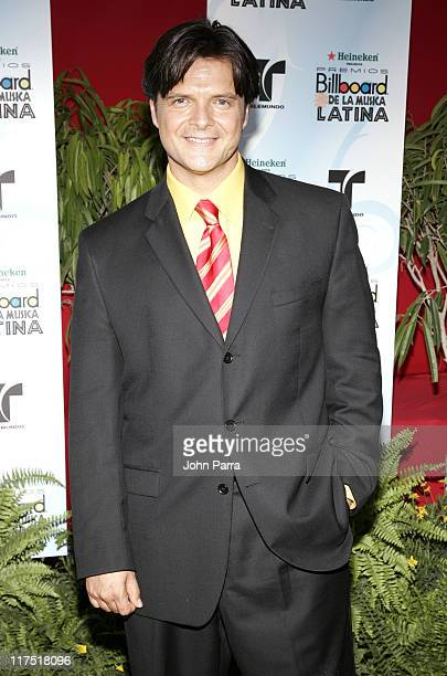 Ariel Lopez Padilla during 2006 Billboard Latin Music Conference Awards Arrivals at Seminole Hard Rock Hotel and Casino in Hollywood Florida United...