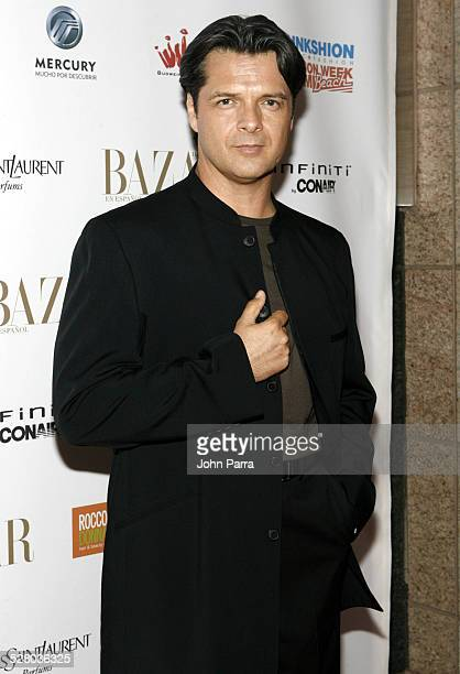 Ariel Lopez Padilla during Miami Fashion Week 2006 Harpers Bazaar en Espanol Collection Arrivals at Knight Concert Hall in Miami Florida United States
