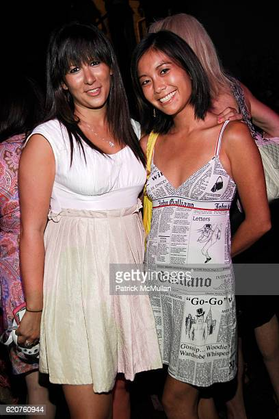 Ariel Moses and Stephanie Wei attend ANIMAL FAIR Magazine's 9th Annual PAWS FOR STYLE Presented By Wendy and Lucky Diamond Lauren and Chloe Conrad...