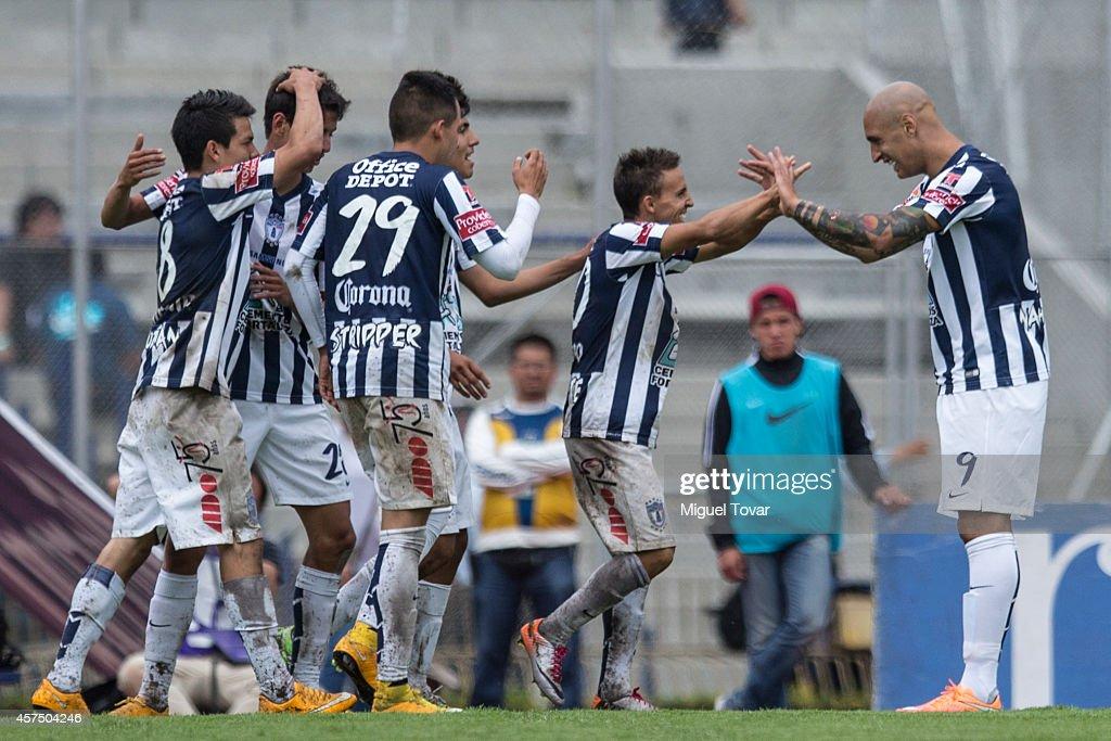 Pumas UNAM v Pachuca - Apertura 2014 Liga MX