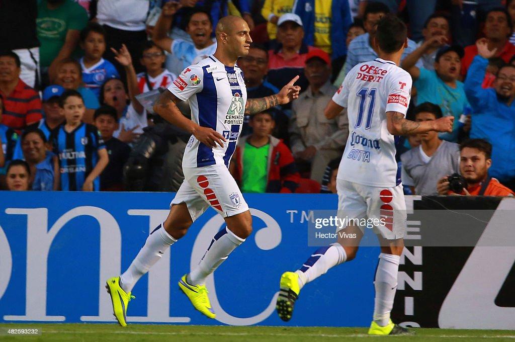 Queretaro v Pachuca - Apertura 2015 Liga MX