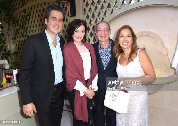 Ariel Ohana Margaret O'Leary Bill Green and Karine Ohana attend Ohana Co LA Event Brands With Mission at The Peninsula Beverly Hills on August 23...