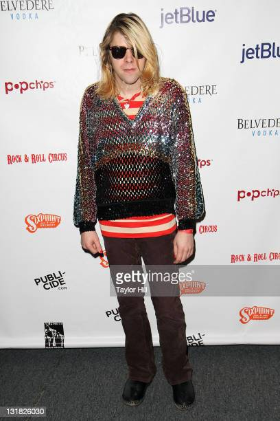 Ariel Pink attends the Rock Roll Circus under the Big Apple Circus tent at Lincoln Center on January 4 2011 in New York City
