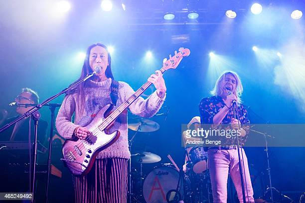 Ariel Pink performs on stage at Electric Ballroom on March 3 2015 in London United Kingdom