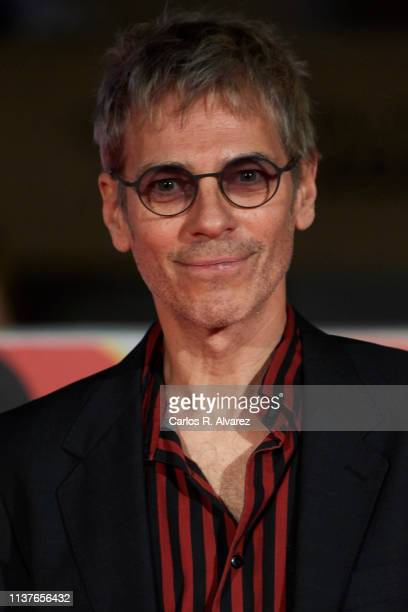 Ariel Roth attends 'Retrospectiva' award ceremony during the 22th Malaga Film Festival on March 22 2019 in Malaga Spain
