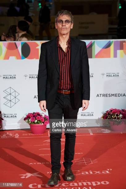 Ariel Roth attends the 'Retrospeciva' award ceremony during the 22th Malaga Film Festival on March 22 2019 in Malaga Spain
