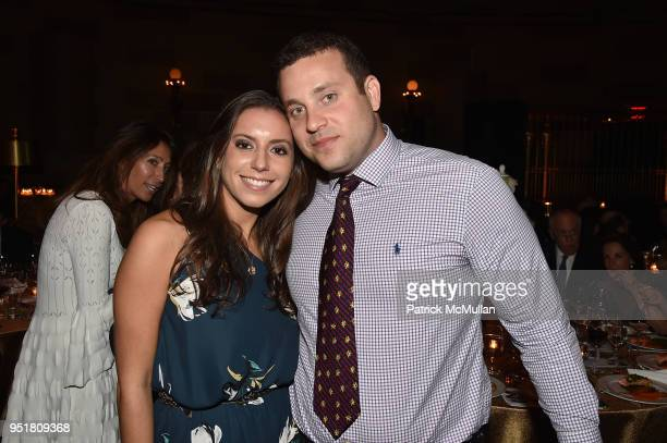 Ariel Silverstein and Alexander Fleiss attend the 2018 Beit Ruth Gala at Gotham Hall on April 26 2018 in New York City