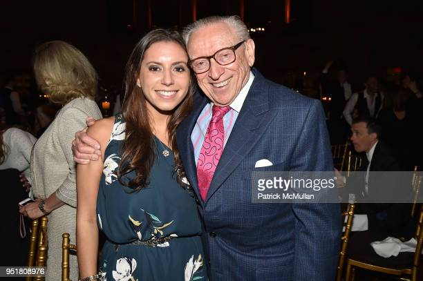 Ariel Silverstein and Larry Silverstein attend the 2018 Beit Ruth Gala at Gotham Hall on April 26 2018 in New York City