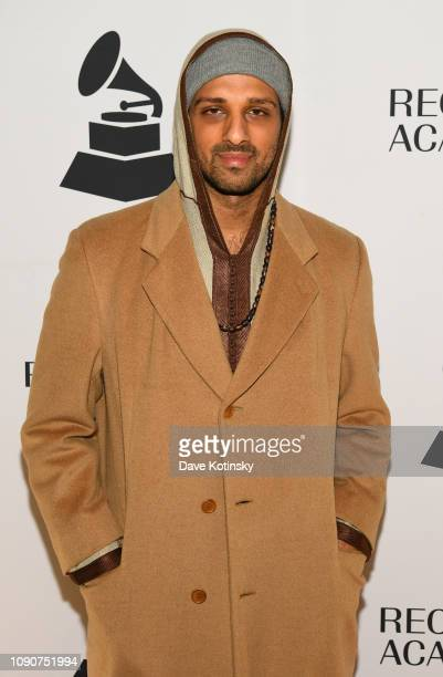 Ari'el Stachel attends 61st GRAMMY Nominee Celebration at SECOND on January 28 2019 in New York City