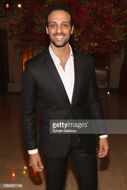 Ari'el Stachel attends American Friends Of The Israel Museum Gala at The Plaza Hotel on October 29 2018 in New York City