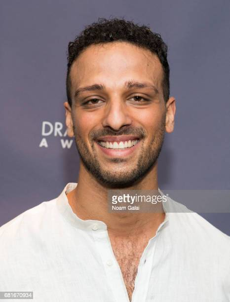 Ari'el Stachel attends the 2017 Drama Desk Nominees Reception at Marriott Marquis Times Square on May 10 2017 in New York City