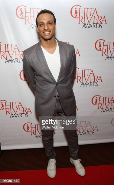 Ari'el Stachel attends The 2018 Chita Rivera Awards at the NYU Skirball Center for the Performing Arts on May 20 2018 in New York City