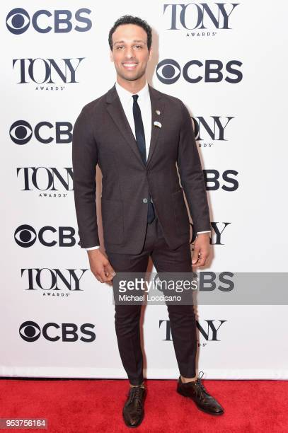 Ari'el Stachel attends the 2018 Tony Awards Meet The Nominees Press Junket on May 2 2018 in New York City