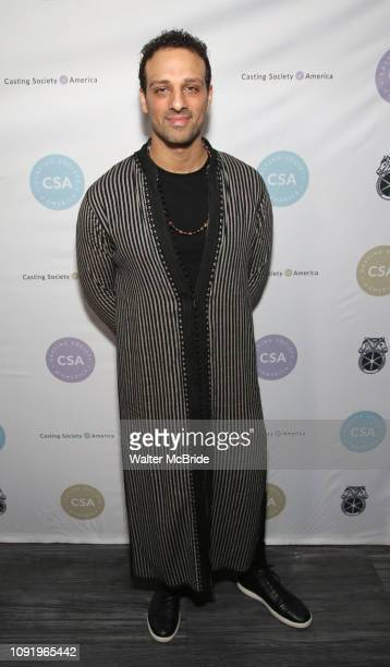 Ari'el Stachel attends the 34th Annual Artios Awards at Stage 48 on January 31 2019 in New York City