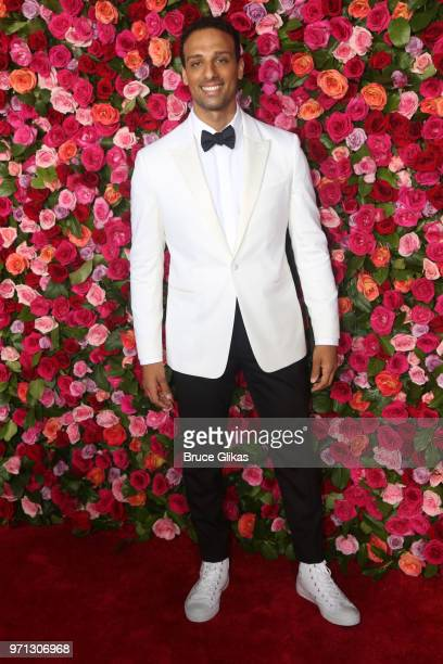 Ari'el Stachel attends the 72nd Annual Tony Awards at Radio City Music Hall on June 10 2018 in New York City