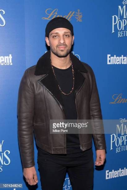 Ari'el Stachel attends The Cinema Society's screening of 'Mary Poppins Returns' cohosted by Lindt Chocolate at SVA Theatre on December 17 2018 in New...