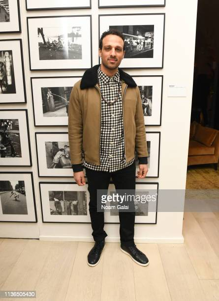 Ari'el Stachel attends the 'Hotel Mumbai' New York Screening after party at The Times Square EDITION on March 17 2019 in New York City