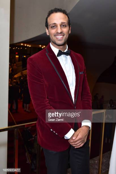 Ari'el Stachel attends The Metropolitan Opera Opening Night Gala SaintSaens' 'Samson et Dalila' at Lincoln Center on September 24 2018 in New York...