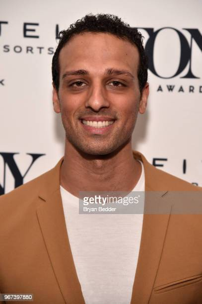 Ari'el Stachel attends the Tony Honors Cocktail Party Presenting The 2018 Tony Honors For Excellence In The Theatre And Honoring The 2018 Special...