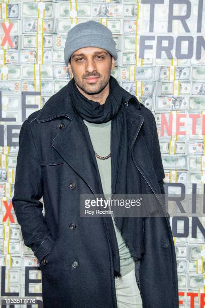 Ari'el Stachel attends the 'Triple Frontier' World Premiere at Jazz at Lincoln Center on March 03 2019 in New York City