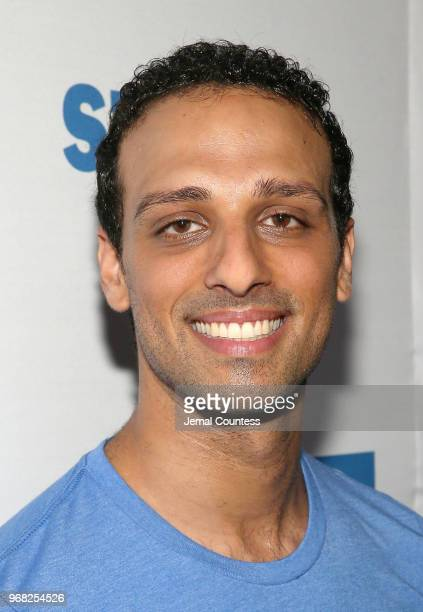 Ari'el Stachel attends the United Airlines Presents #StarsInTheAlley produced by The Broadway League on June 1 2018 in New York City