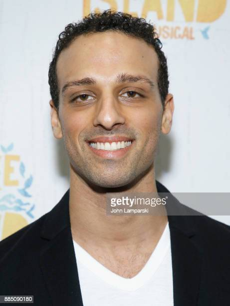 Ari'el Stachel attneds 'Once On This Island' Broadway opening night at Circle in the Square Theatre on December 3 2017 in New York City