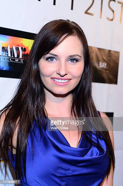 Ariel Teal Toombs attends the surprise 21st Birthday For XGame Champion Kristos Andrews at Varsity Sports Club And Bar on August 24 2011 in Los...