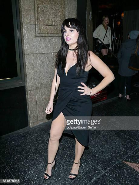 Ariel Teal Toombs is seen on January 16 2017 in Los Angeles California