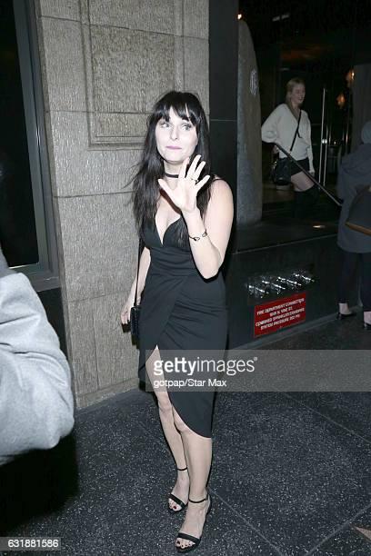 Ariel Teal Toombs is seen on January 16 2017 in Los Angeles