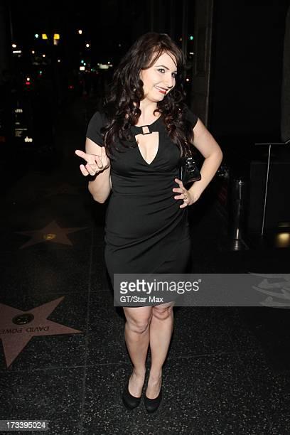 Ariel Teal Toombs seen on July 12 2013 in Los Angeles California