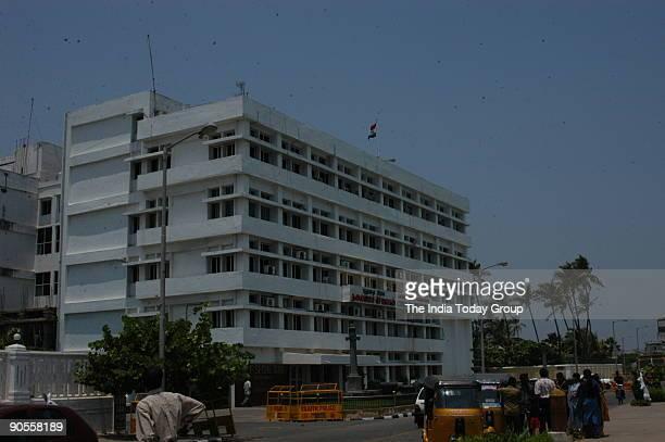 Ariel View of Chief Secretariat Union Territory of Pondicherry
