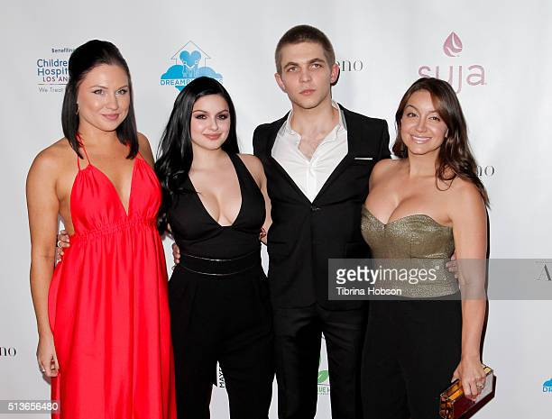 Ariel Winter and Laurent Claude Gaudette and freinds attend The Dream Builders Project 3rd Annual 'A Brighter Future For Children' Charity Gala at...