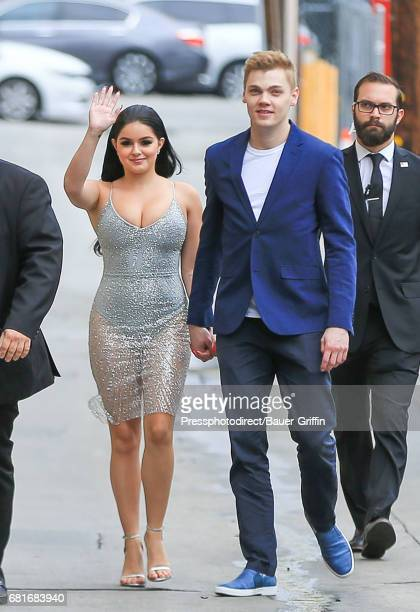 Ariel Winter and Levi Meaden are seen on May 10 2017 in Los Angeles California