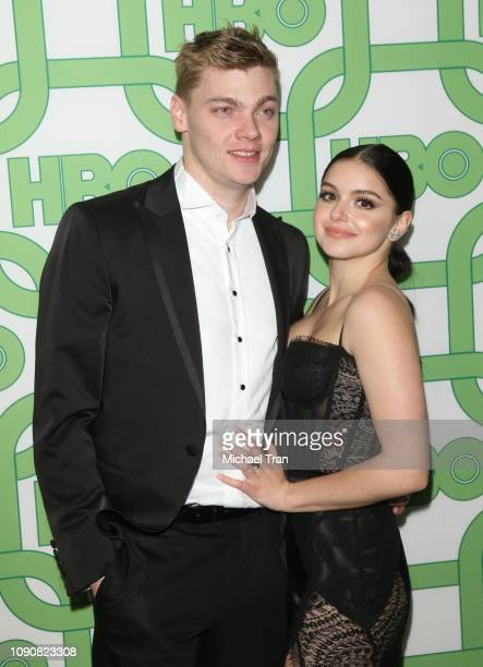 Ariel Winter and Levi Meaden attend HBO's Official Golden Globe Awards After Party held at Circa 55 Restaurant on January 06 2019 in Los Angeles...