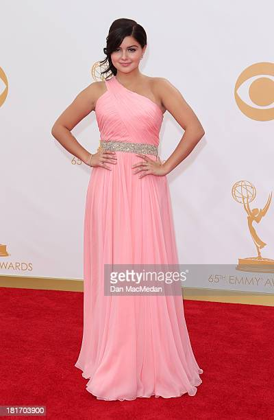 Ariel Winter arrives at the 65th Annual Primetime Emmy Awards at Nokia Theatre LA Live on September 22 2013 in Los Angeles California